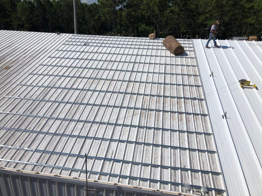Re-Roofing (Retrofitting) Metal Roofs-Mid-Florida Metal Roof Contractors of Boynton Beach